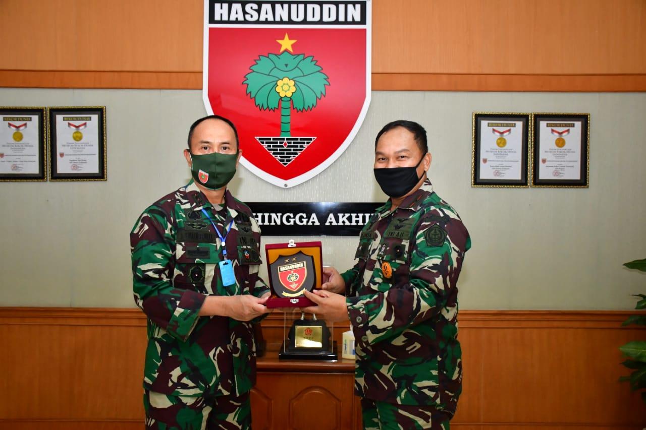 Pindah Tugas, Pangkosekhanudnas II Pamitan Ke Pangdam Hasanuddin