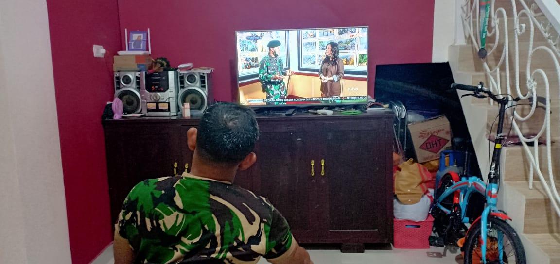Aksi Prajurit Nubika TNI AD Jadi Tontonan Personel Jajaran Kodam Hasanuddin